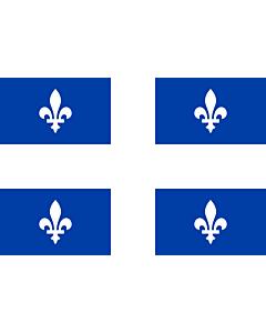 Fahne: Québec