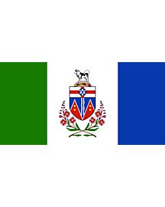 Fahne: Yukon (Territorium)