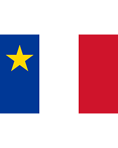 Fahne: Acadia