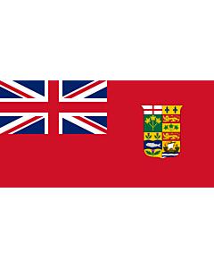 Fahne: Canada 1868 Red