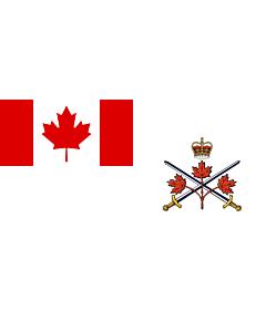Fahne: Canadian Army (2013–2016)