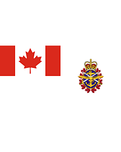 Fahne: Canadian Forces | Joint service flag of the Canadian Forces