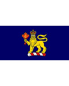 Fahne: Canadian Governor General LeBlanc   Governor General w en LeBlanc of w en Canada
