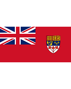 Fahne: Canadian Red Ensign