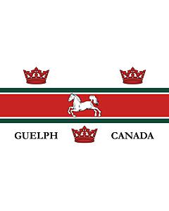 Fahne: Guelph   City of Guelph, Ontario, Canada