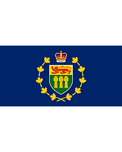 Fahne: Lieutenant-Governor of Saskatchewan   Lieutenant-gouverneur de Saskatchewan