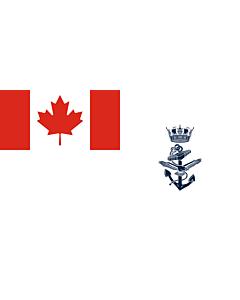 Fahne: Naval Jack of Canada
