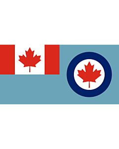 Fahne: Royal Canadian Air Force ensign