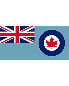 Fahne: Royal Canadian Air Force Ensign 1941-1968