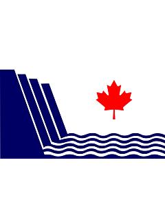 Fahne: Scarborough, Ontario   En Scarborough, Ontario, drawn in