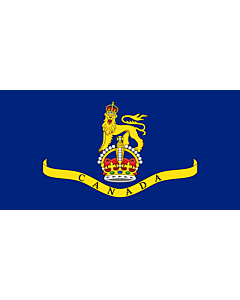 Fahne: Standard of the Canadian Governor General 1931 | Created the image myself using the base image template at the Commons