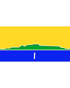 Fahne: Thunder Bay | An approximation of the flag of the City of Thunder Bay