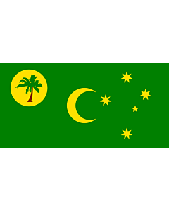 Fahne: Kokosinseln