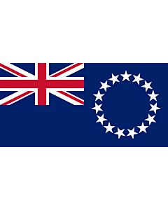 Fahne: Cookinseln