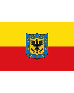 Fahne: Bogotá D.C  Cundinamarca | Ciudad de Bogotá  Colombia