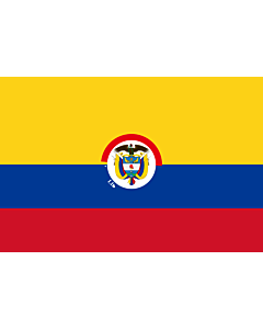 Fahne: President of Colombia | That is used by the President of Colombia | Presidente de Colombia | Presidenziale della Colombia