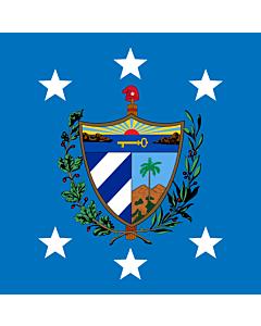 Fahne: President of Cuba