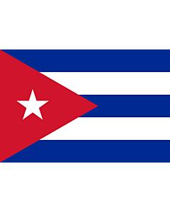Fahne: Kuba