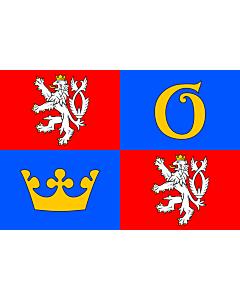 Fahne: RegionHradecKrálové