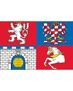 Fahne: RegionPardubice