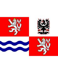 Fahne: Mittelböhmische Region