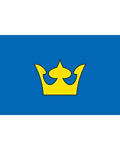 Fahne: Brno-Královo pole vlajka | Brno-Královo pole | Městské části Brna-Králova pole