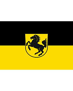Fahne: Stuttgart, Landeshauptstadt