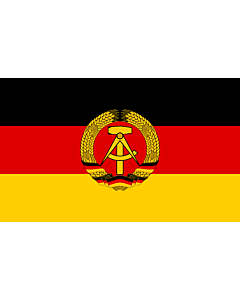 Fahne: DDR