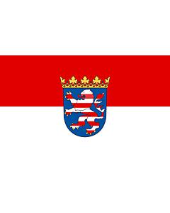 Fahne: Hessen