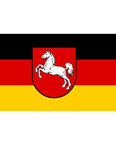 Fahne: Niedersachsen