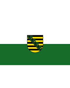 Fahne: Sachsen