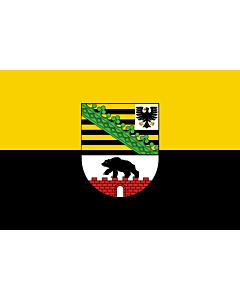 Fahne: Sachsen-Anhalt