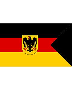 Fahne: Deutsche Konsular-Fahne