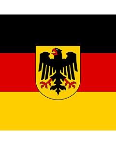 Fahne: Bundesminister Deutschland