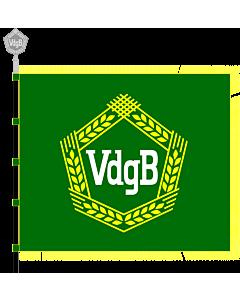Fahne: Vereinigung der gegenseitigen Bauernhilfe  VdgB