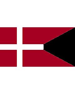 Fahne: Naval Ensign of Denmark