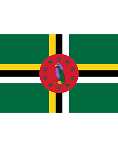 Fahne: Dominica