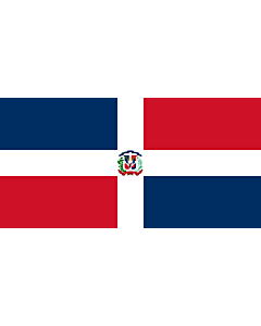 Fahne: Naval Ensign of the Dominican Republic