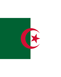Fahne: Algerien