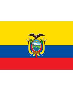 Fahne: Ecuador