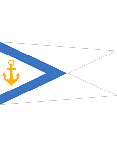 Fahne: Estonia - Chief of Naval Forces | Pennant of the Estonian Chief of Naval Forces | Mereväe ülema vimpel