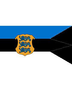 Fahne: Naval Ensign of Estonia