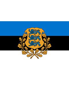 Fahne: President of Estonia