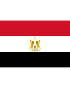 Fahne: Ägypten