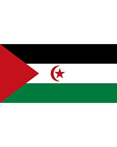 Fahne: Westsahara