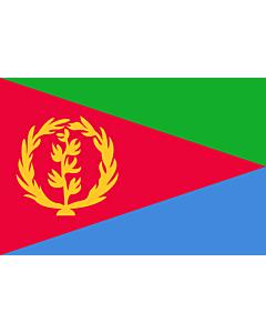 Fahne: Eritrea