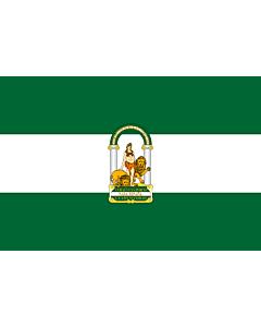 Fahne: Andalusia