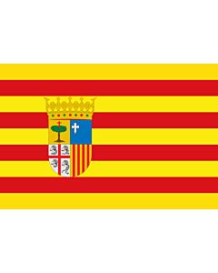 Fahne: Aragon