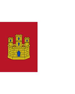 Fahne: Castilla-La Mancha