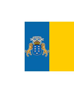 Fahne: Kanarischen Inseln